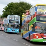 The Stagecoach fleet of Seasiders buses will be back in action for the Easter holidays.