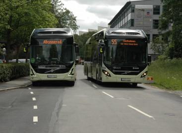 """""""Volvo"""" pardavė elektrinių autobusų sistemą Namuro miestui Belgijoje"""