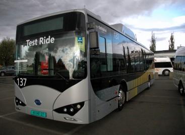 Elektrinių autobusų Kinijoje sparčiai daugėja