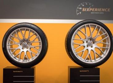 """""""AutoBild sportscars"""" teste geriausiomis pripažintos """"SportContact 6"""" padangos"""