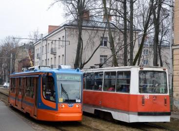 Senieji ir naujieji tramvajai Daugpilyje