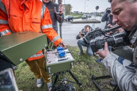 Kaune pristatė naujovę – lazerinį greičio matuoklį