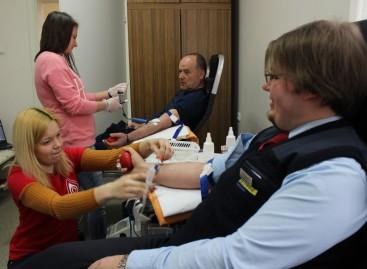 """Kraujo donorystės akcija """"Kautroje"""""""