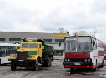 Senieji panevėžiečių techninės pagalbos automobiliai