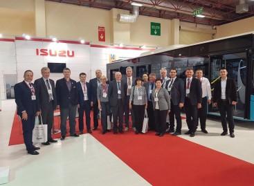"""Keleivių vežėjai lankėsi """"Busworld Turkey"""" parodoje"""