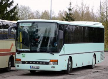 Ukmergės autobusų parkas įsigijo naujesnių autobusų