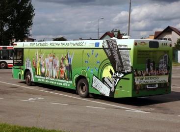 Penkiasdešimtyje Lenkijos miestų – nemokamas viešasis transportas
