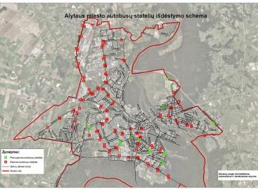 Tobulinama Alytaus miesto viešojo transporto sistema – parengtos maršrutų schemos