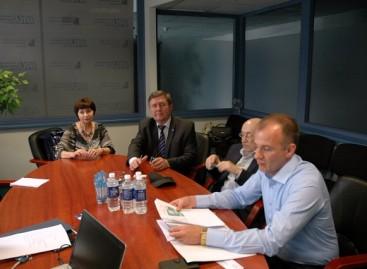 Lietuvoje lankosi baltarusių delegacija