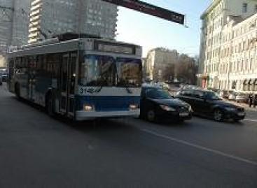 Maskviečiai renka pinigus troleibusams išsaugoti