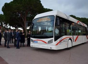 Monake – naujas hibridinis autobusas