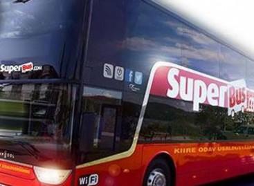 """""""SuperBus"""" jau važinėja maršrutu Talinas–Ryga"""