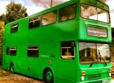Big Green Bus: naujas seno autobuso gyvenimas