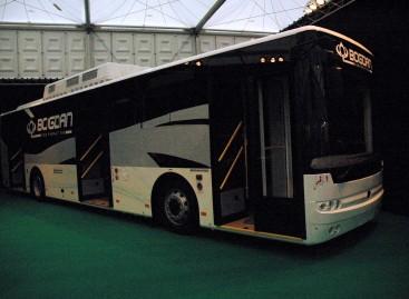 Ukrainoje autobusų pagaminta gerokai mažiau