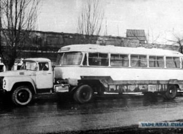 OdAZ-869 – neįprasta transporto priemonė iš praėjusio amžiaus