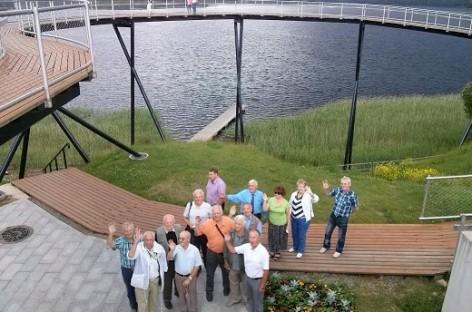 Veteranų klubo nariai lankėsi Daugpilyje