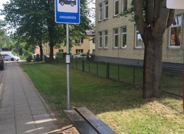 Perkeliama  Grigiškių stotelė