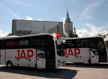 Joniškyje – pirmieji po nepriklausomybės atkūrimo nauji autobusai