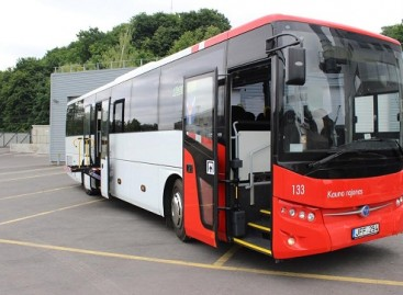 Dar daugiau naujų autobusų