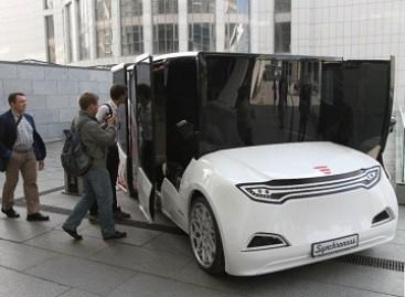 Kijeve pademonstruotas ateities viešasis transportas