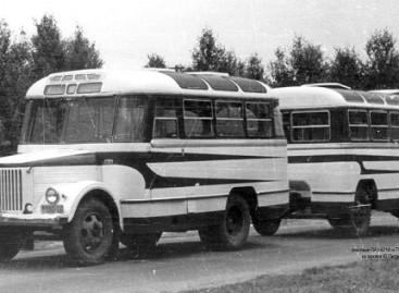 PAZ autobusai – su priekabomis