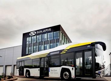 """Pristatytas elektrinis """"Solaris Urbino 12″"""