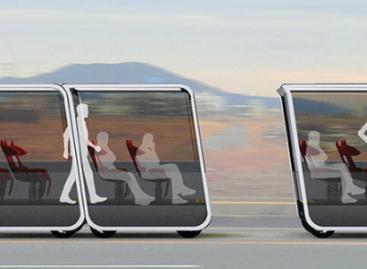 Ateities transportas: modulinis autobusas, kurio dalimi galės tapti kiekvienas