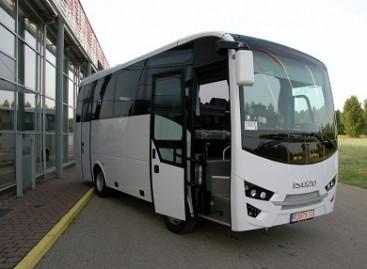 Joniškyje – du nauji autobusai