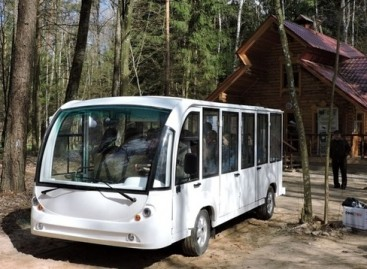 Baltarusiams ES paskolintas elektrinis autobusas supleškėjo likus keletui minučių iki pirmosios ekskursijos