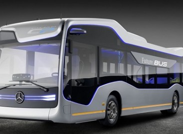 """Mercedes-Benz"" pristatė ateities autobuso konceptą"