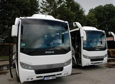 Panevėžyje – dar du nauji autobusai