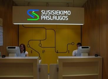 """Vilniaus geležinkelio stotyje – antrasis """"Susisiekimo paslaugų"""" klientų aptarnavimo centras"""