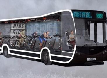 Londone – autobusai su treniruokliais