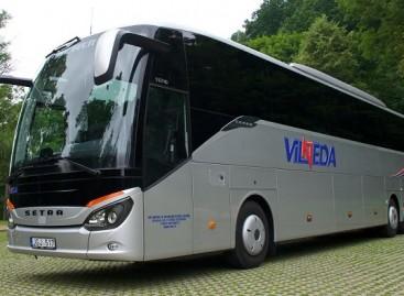 """Lietuvoje – dar vienas naujas """"Setra"""" autobusas"""