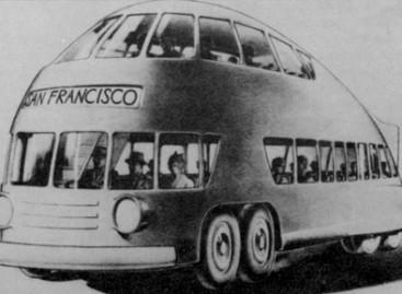 Kaip praeities dizaineriai įsivaizdavo ateities autobusus
