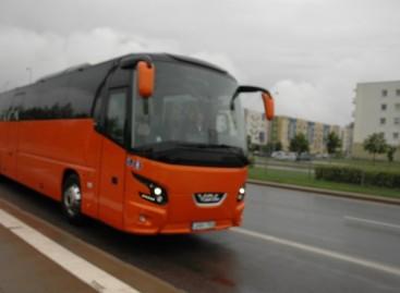 Mažeikiuose – naujas prabangus autobusas