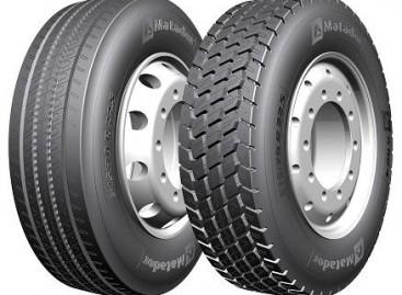 """Naujo dydžio """"Matador HR4"""" sunkvežimių ir autobusų padangos"""