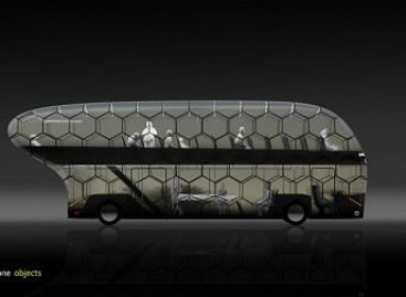 Peterburgo dizaineriai sukūrė ateities autobusą