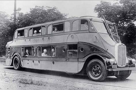 Autobusas – sausumos garlaivis