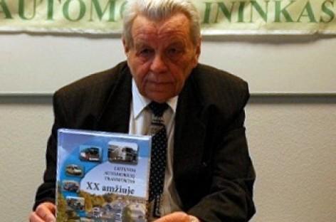 """Mirė ilgametis veteranų klubo """"Automobilininkas"""" prezidentas Antanas Paškauskas"""