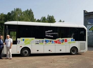 """""""Karsan"""" autobusai lankėsi Švenčionyse"""