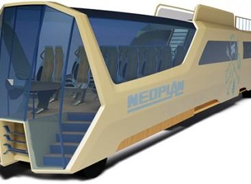 Įdomūs autobusų konceptai