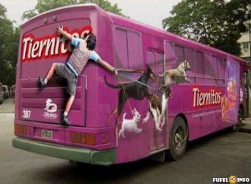 Įspūdingiausios reklamos ant autobusų