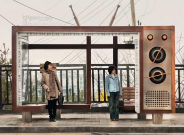 Originalios autobusų stotelės
