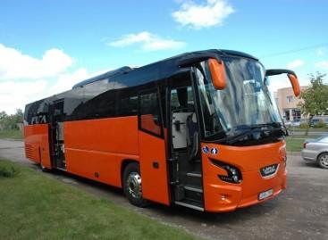 Naujasis Mažeikių autobusas – jau Lietuvos keliuose