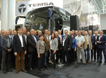 Keleivių vežėjai lankėsi Hanoverio IAA parodoje