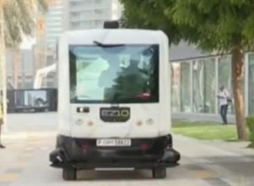 Dubajaus gatvėse – bepilotis autobusas (video)