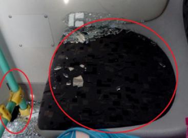 Jakaterinburge subyrėjo autobusas, pirktas Pasaulio futbolo čempionatui