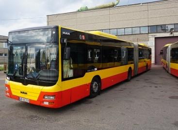 """""""Kauno autobusai"""" įsigijo pavažinėtų MAN autobusų"""