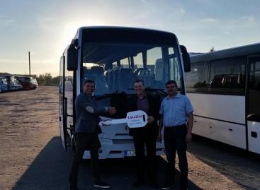 Kelmės autobusų parke – naujas autobusas
